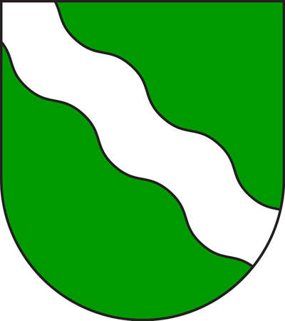 Coat of arms of Rhineland is the name used for a loosely defined area of Western Germany along the Rhine, chiefly its middle section. Vector illustration