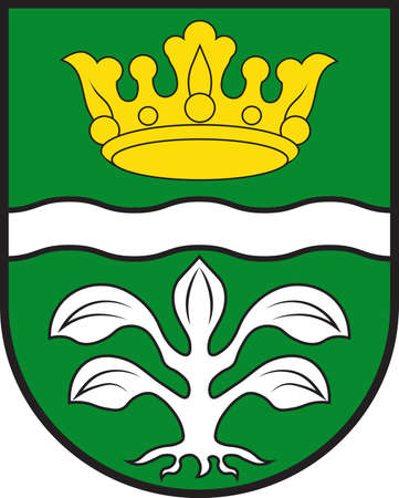 Coat of arms of Mayen-Koblenz is a district in the north of Rhineland-Palatinate, Germany. Vector illustration