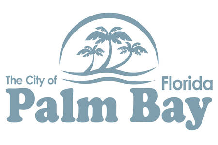 Coat of arms of Palm Bay is a city in Brevard County, Florida, USA. Vector illustration Ilustrace