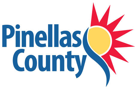 Coat of arms of Pinellas County is a county located in the state of Florida. Vector illustration Illustration