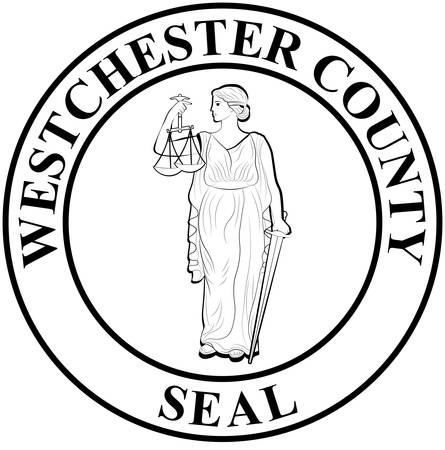 Coat of arms of Westchester County is a county in the U.S. state of New York. Vector illustration