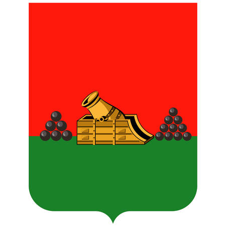 Coat of arms of Bryansk is a city and the administrative center of Bryansk Oblast, Russia. Vector illustration 矢量图像