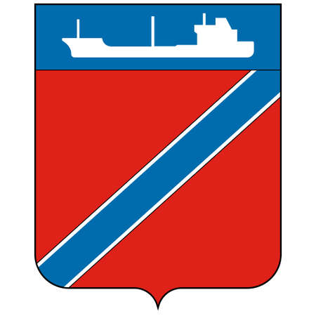 Flag of Taganrog is a port city in Rostov Oblast, Russia, on the north shore of the Taganrog Bay in the Sea of Azov.
