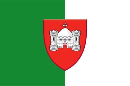 Coat of arms of County Sligo is a county in Ireland. Vector illustration Vektorové ilustrace
