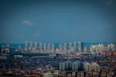 Buildings in Istanbul Esenyurt