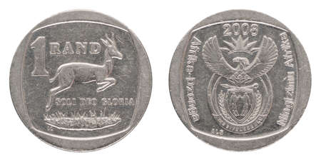 1 South African Rand - ZAR - from 2008