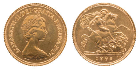 The sovereign is a gold coin of the United Kingdom, with a nominal value of one pound sterling. One of Britain's most famous coins, the Gold Sovereign is considered by many to be the flagship coin of The Royal Mint.