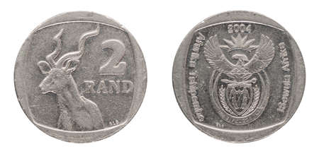 2 South African Rand - ZAR - from 2004