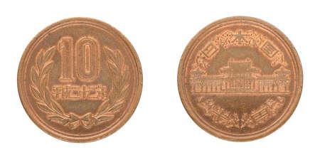 10 japanese yen coin - JPY