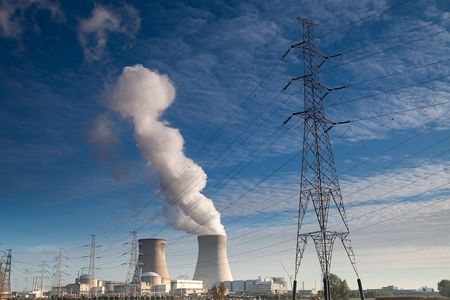 cooling towers of a nuclear power plant Stock Photo - 5726704