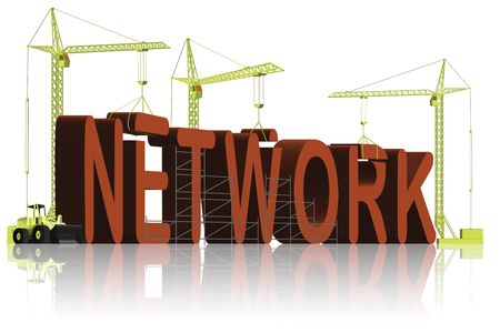 creating a network Stock Photo - 6550475