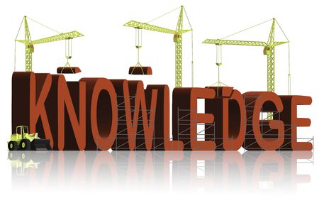 knowledge building Stock Photo - 6550478