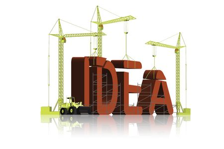 creating an idea Stock Photo - 6550466