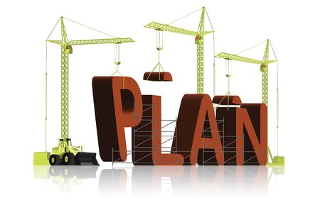 plan construction Stock Photo - 6550463
