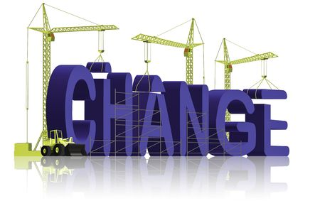 change making Stock Photo - 6550469