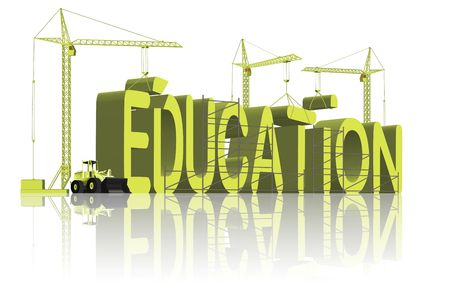 university word: education building knowledge