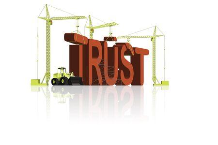 confianza concepto: fomento de la confianza