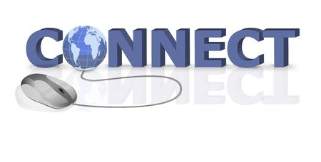 internet connect by mouse click Stock Photo - 6583695