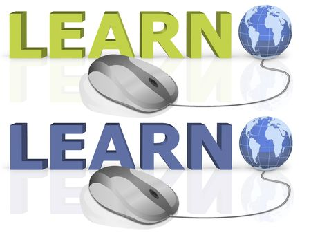 on line learning by a single mouse click photo
