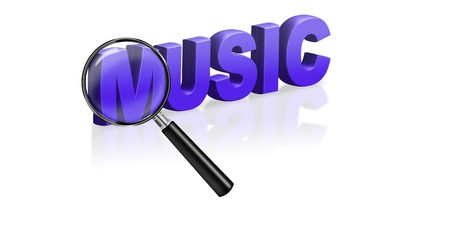 music download online mp3 audio icon Stock Photo - 6969015