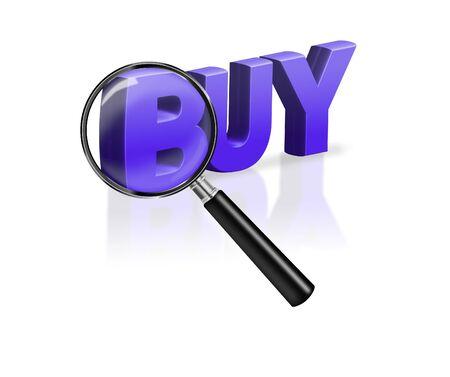 buy online internet shopping advertising button Stock Photo - 6969002