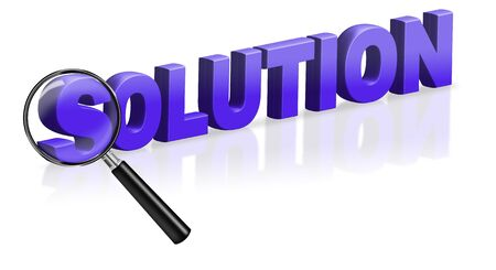 problem solution button online solving button Stock Photo - 6969026