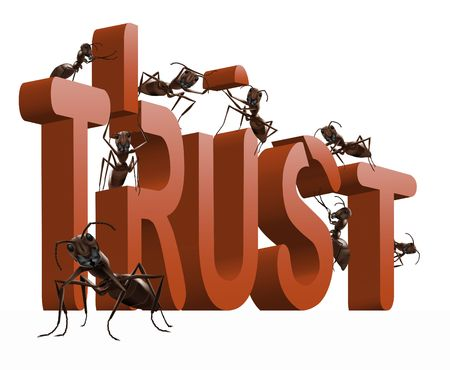 building trust or confidence honesty and respect