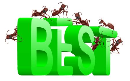 better price: best price and quality real winner better than the rest successful Stock Photo