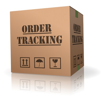 order tracking online shipment evaluation Stock Photo - 8013042