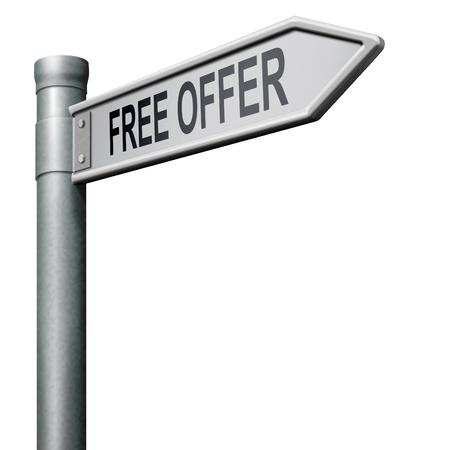 free offer online bargain gratis download Stock Photo - 8406538