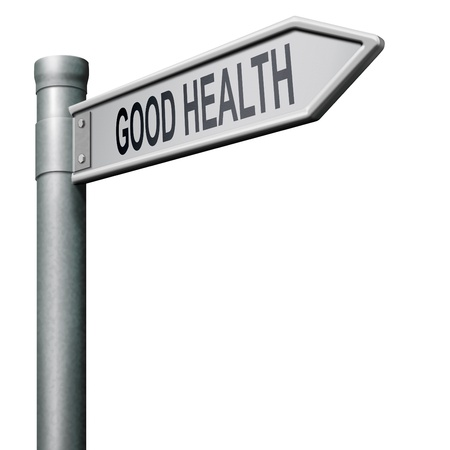 healthy life road to good health and vitality energy healthy mind and body Stock Photo - 8406547