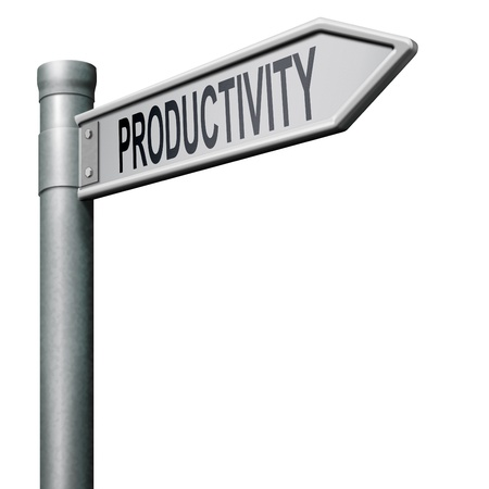 road to productivity industrial or business productive photo