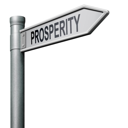 road to success and prosperity succedd in life and business be happy and successful Stock Photo - 8406544