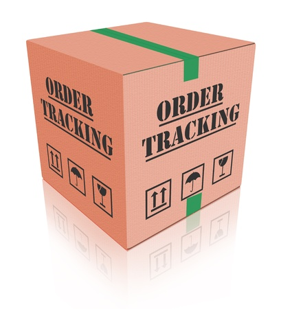 order tracking online shipment evaluation cardboard box shipping photo