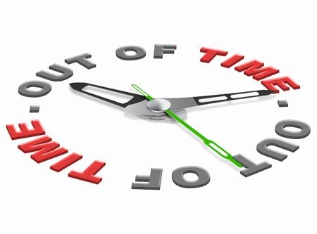 chronology: el tiempo en un plazo de prisa o simplemente para fines de