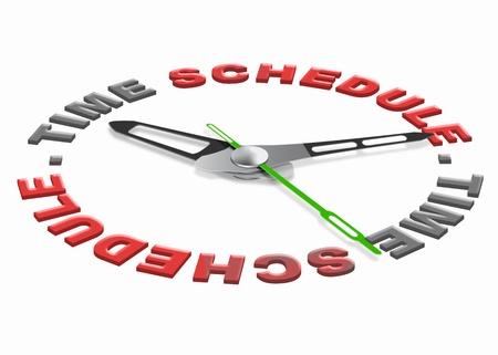 emploi du temps: Les t�ches temps planning � �tablir des buts agenda et d'organiser le rendez-vous jour ou de la r�union sur la gestion du temps du jour et organisation quotidienne