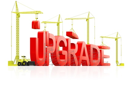 upgrade:  upgrade to next latest software version, upgrading website to new generation, download updated model of computer program, updating product improved quality;