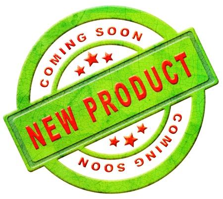proximamente: nuevo producto disponible en breve el anuncio de llegada y disponible muy pronto noticias de la publicidad Foto de archivo