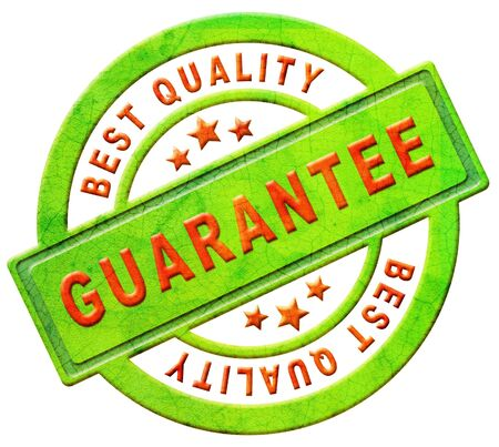 guarantee best quality stamp or icon warrenty for sales on internet web shop online shopping photo