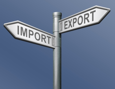 import and export freight transportation in international trade global economy and worldwide business photo