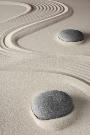 meditation background japanese zen garden tao buddism concept for relaxation spirituality harmony and concentration conceptual for spa and wellness treatment photo