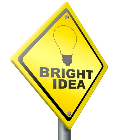 bright idea brilliant idea new innovation brainstorm brainstorming innovate lightbulb concept success in creativity creative inspiration invention silhouette Stock Photo - 14852038