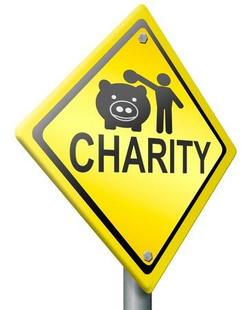 generoso: signo de caridad carretera recaudar dinero para ayudar a recaudar fondos donan regalos dar una generosa donaci�n o ayudar a recaudar fondos con el