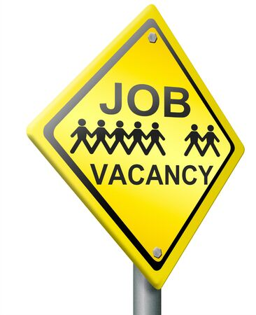 job vacancy hiring now icon join our working team Stock Photo - 14945229