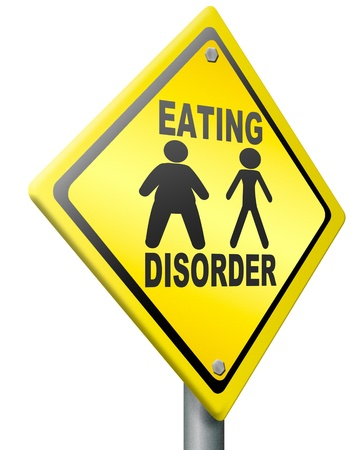 eating disorder anorexia obesity  unhealthy lifestyle obese or very thin people a psychological sickness photo