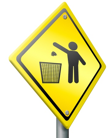 tossing waste in a trash can concept for garbage bin disposal clean cleaning up dustbin person silhouette litter pollution Stock Photo - 15889214