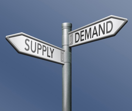 in demand: supply and demand market economy
