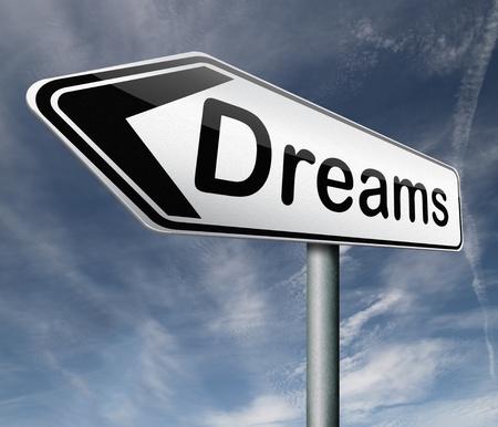 realiseren: dromen te realiseren en maak uw droom waar te succesvol te zijn en uw doelen te bereiken