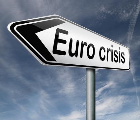 housing crisis: Euro crisis bank crash credit or housing bubble leading to economic recession or depression