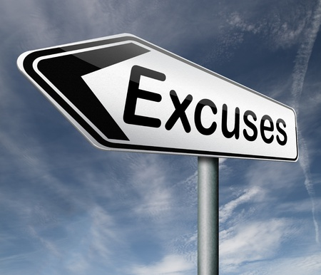 justify: excuses making excuse after mistake or error justify your choice  Stock Photo